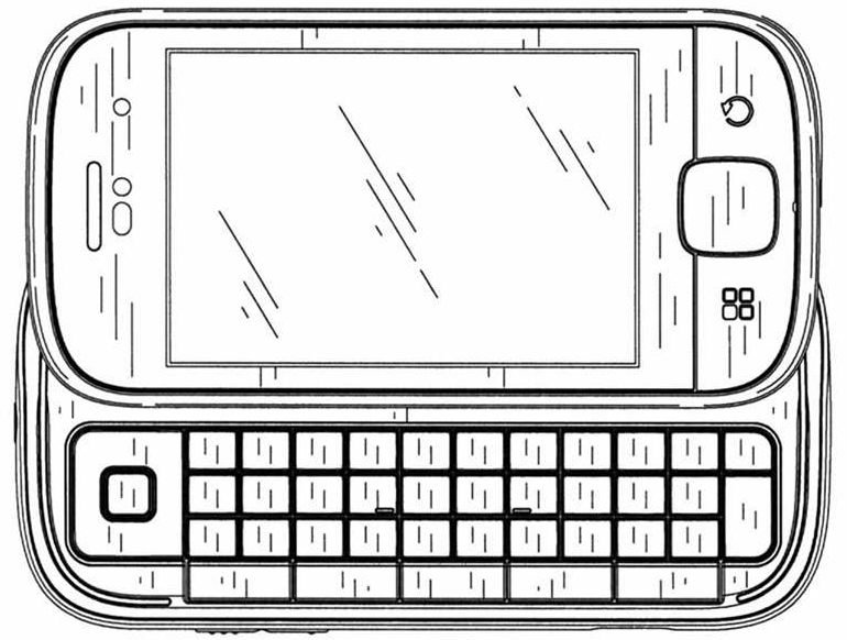 motorola morrison sketches show handset from all angles